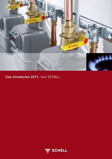 "Download Broschüre ""Schell Gas-Armaturen 2010"""