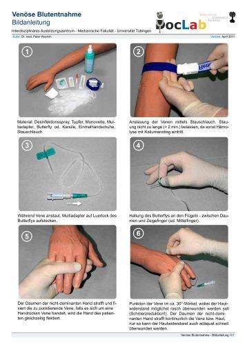 Venöse Blutentnahme Bildanleitung - Doc-Lab.de