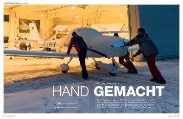 aerokurier Ausgabe 3/2013 - AQUILA Aviation