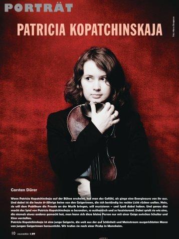 porträt - Patricia Kopatchinskaja