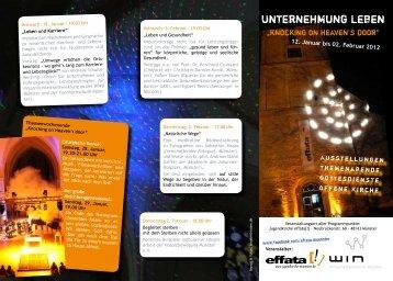 Unternehmung Leben - WIN Münster