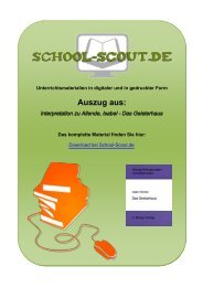 Interpretation zu Allende, Isabel - Das Geisterhaus - School-Scout