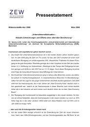 Statement Dr Georg Licht ZEW - Mittelstandsmonitor