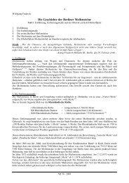 Die Geschichte der Berliner Meilensteine - Forschungsgruppe ...