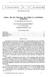 B O T A N I K Studien über die Verbreitung der Gehölze im ...