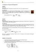 Verschiebung von Gleichgewichten - Seite 2
