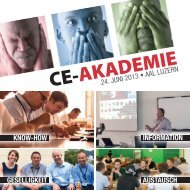 Einladungsbroschüre downloaden - bei der CE-Akademie