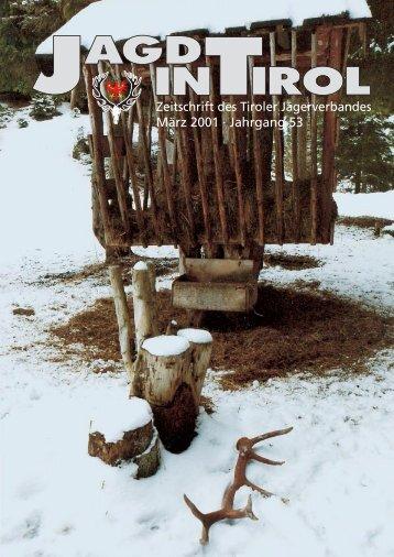 Ausgabe 3/2001 - Tiroler Jägerverband