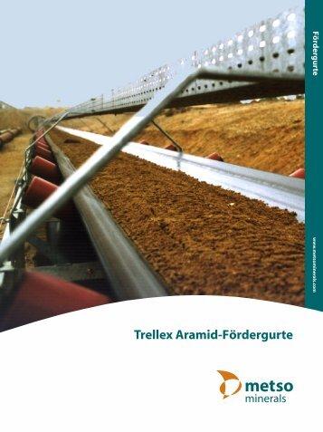Trellex Aramid-Fördergurte - Metso