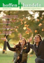 November 2009 - Evangelische Vereinigung für Bibel und ...