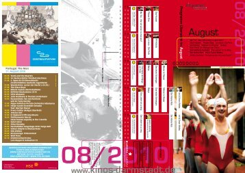 August - Kinos Darmstadt
