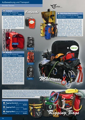 Rigging Bags Multiuse Coolpacks