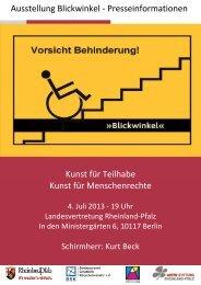 xxx Web-Version Pressemappe Blickwinkel Juli 2013 NEU ... - BSK eV