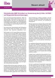 Klarstellendes BMF-Schreiben zur Anwendung des § 5 Abs. 2a ...