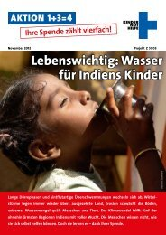Lebenswichtig: Wasser für Indiens Kinder