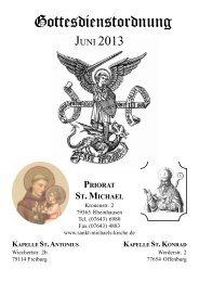 Gottesdienstordnung Juni 2013 - Sankt-michaels-kirche.de