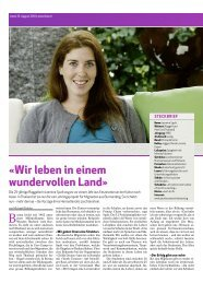 Jasmine Spalt bei Youth Connect, Zeitungsartikel, 15. August 2010