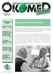Ökomed 1 - 2011 - Tiroler Gebietskrankenkasse