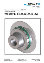 Elastische Kupplung - Tschan GmbH