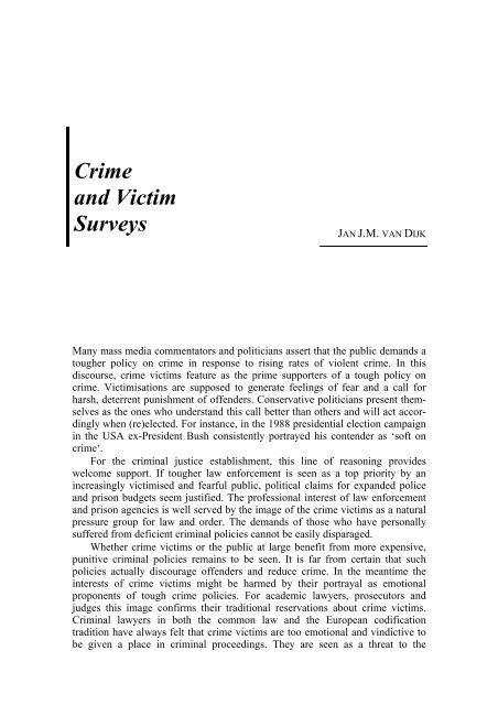 Crime And Victim Surveys Australian Institute Of Criminology