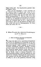 X. Kleine Versuche iiber elektrische Erscheinungen; con F. C. Henrici.