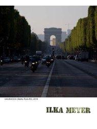recent catalogue / aktueller Katalog deutsch / français - Ilka Meyer