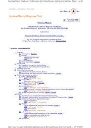 Herzinsuffizienz Seite 1 von 10 Herzinsuffizienz Diagnose-Text ...