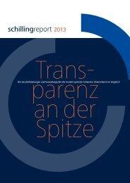schillingreport 2013 als PDF Download