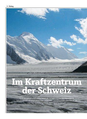 Es ist das grösste unbewohnte Gebiet der Schweiz und eine ...