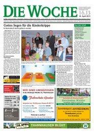Ausgabe 16/13 - Redaktion + Verlag - printdesign