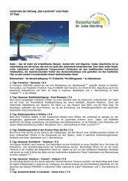 """Leserreise der Zeitung """"Das Landvolk"""" nach Kuba 15 ... - Reisekontakt"""