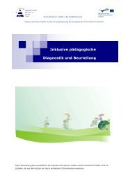 Inklusive pädagogische Diagnostik und Beurteilung - irisproject.eu