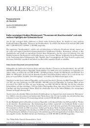 Koller versteigert Hodlers Meisterwerk