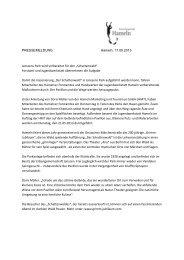 Janssens-Park wird vorbereitet - Grimm Jubiläum
