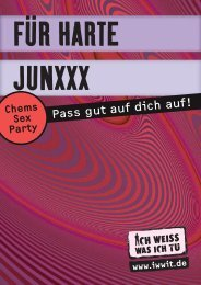 Für harte Junxx - Deutsche Aids-Hilfe e.V.