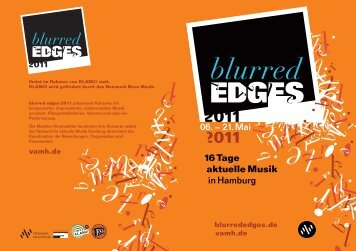 blurred edges 2012 - Verband für aktuelle Musik Hamburg