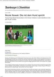 Download - Arche Nowak Nicole Nowak Hundepension