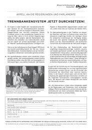 TrennbankensysTem jeTzT durchseTzen! - Bürgerrechtsbewegung ...