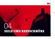 Seile und ReepSchnüRe - Bornack