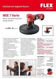 WSE 7 Vario - FLEX