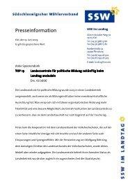 TOP 19 Landeszentrale für politische Bildung - Informationsangebot ...