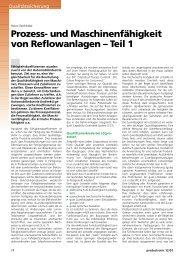 Prozess- und Maschinenfähigkeit von ... - All-electronics.de