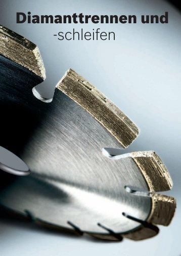 Diamanttrennen und -schleifen - Bosch Elektrowerkzeuge
