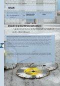 Diamanttrennen und -schleifen - Bosch Elektrowerkzeuge - Seite 2
