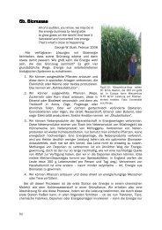 6b. Biomasse 6b. Biomasse - Nachhaltige Energiegewinnung