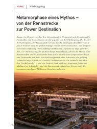 Metamorphose eines Mythos – von der Rennstrecke zur ... - marke41