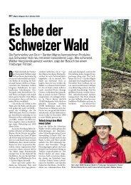 Es lebe der ehweizer Wald - Lignum
