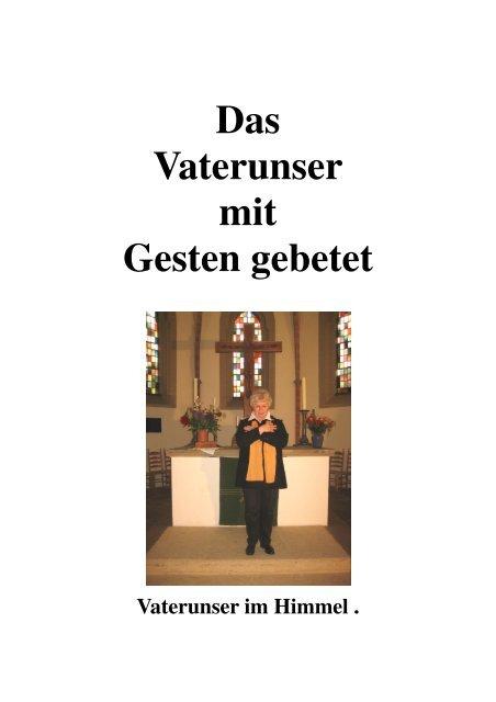 Frauengottesdienst Vaterunser mit Gesten