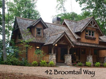 to view a brochure of this home - Balsam Mountain Preserve