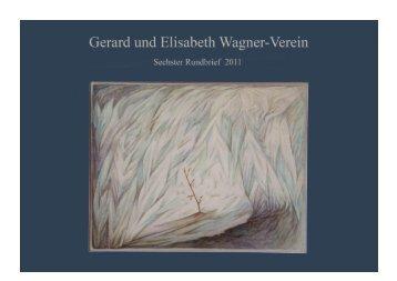 Zweiter Rundbrief - Gerard Wagner - gerardwagner.de